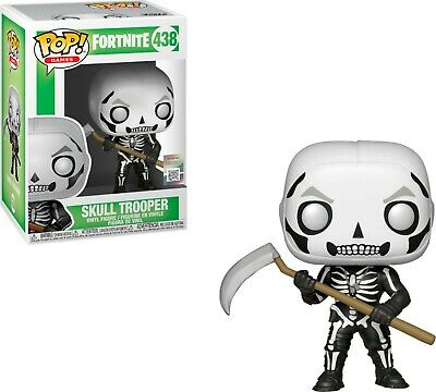 Funko POP ! Vinyl 438  Skull Trooper Fortnite Games NEW! SUBITO DISPONIBILE