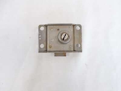 Old Western Electric 1960 3-Slot Lock