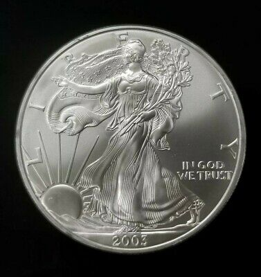 2003-2015 1 oz US American Silver Eagle GEM BU - FREE SHIPPING [SC7502]