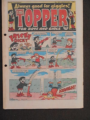 The Topper Comic 23rd March 1985 (Issue 1677)