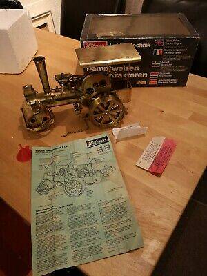 Wilesco Brass Traction Steam Roller (Made In West Germany) D367