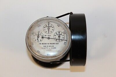 Negretti & Zambra Air Meter to 100,000 feet, No. 7852