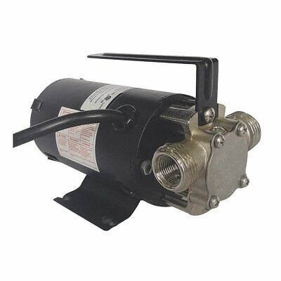 DAYTON 1/10 HP Stain Steel Compact Flexible Impeller Utility Pump, Intermittent