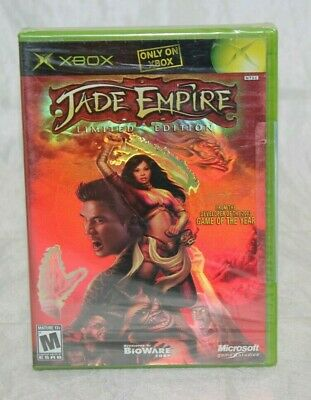 Jade Empire: Limited Edition (Microsoft Xbox, 2005) Brand New Factory Sealed