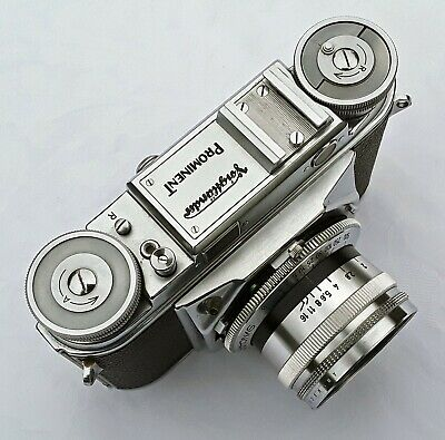 Voigtlander Prominent with Ultron 1:2/50mm lens