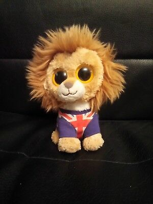 33a6a42e5d6 TY BEANIE BOO Hero Lion 2012 with swing tag - £3.50