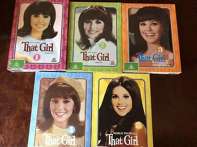 That Girl DVD box set complete Series 1 2 3 4 & 5. Brand New. Sealed. All Region