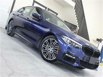 2018 5-Series 540i xDrive 2018 BMW 5 Series 540i xDrive 8,372 Miles Mediterranean Blue Metallic 4dr Car St