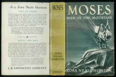 Moses Man Of The Mountain, 1939 First Edition, Superb, Stated First Edition