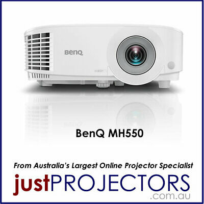 BenQ MH550 FULL HD Projector. 100% Aussie Release! Brand New 2yr Wrnty