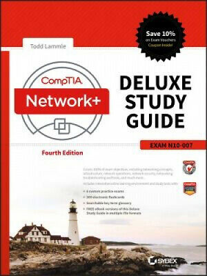 Comptia Network+ Deluxe Study Guide: Exam N10-007 by Todd Lammle.