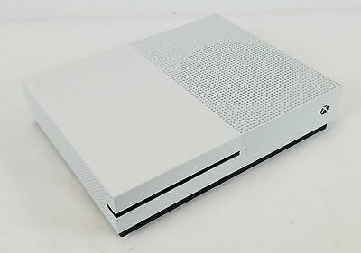 Microsoft Xbox One S Model 1681 1TB White Console Only TESTED & WORKING