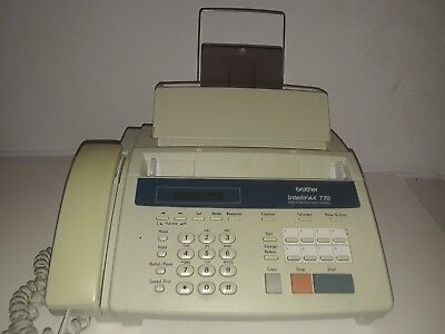 Brother Intellifax 770 Home/Office Plain Paper Facsimile fax machine- untested