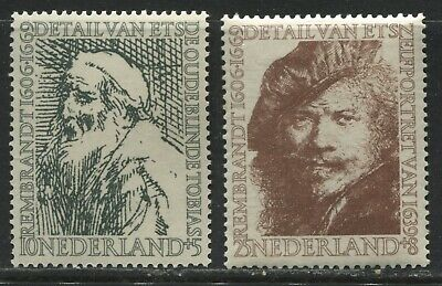 Netherlands Artists Semi-Postal 10 and 25 cents mint o.g.