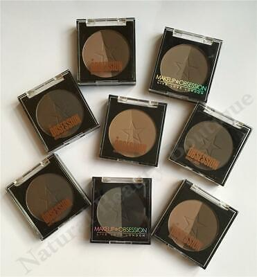 OBSESSION MAKEUP by Revolution BROW DUO Eyebrow Powder Refill Palette VEGAN