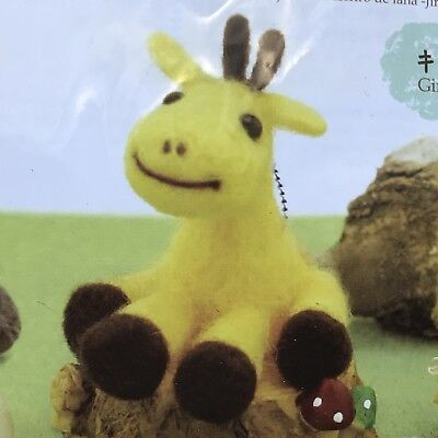 Adorable Giraffe Diy Craft Felt Kit