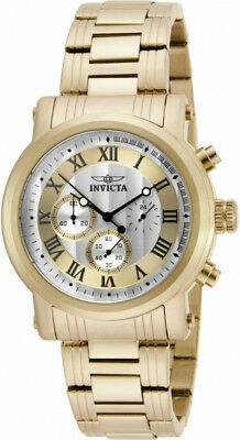 Invicta Specialty 15216 Men's Roman Numeral Chronograph Gold & Silver Tone Watch