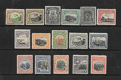 Mozambique Co. 1918 set of 16 - #108/26 NH - Retail $10.60