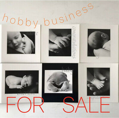 SMALL BUSINESS : HOBBY : baby greeting card internet based, shop, eBay or market
