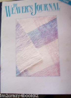 Weaver's Journal 42  Cotton! Blankets Lace Embellishments Tapestry Flax Magazine