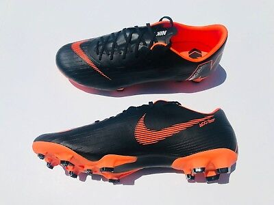 quality design 336ec c866d Nike Mercurial Vapor 12 Pro FG ACC Soccer Cleats Black Orange AH7382-081  Size 12