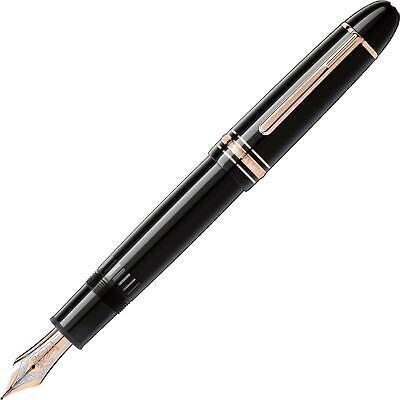 Brand New Montblanc Meisterstueck Red Gold-Coated 149 Fountain Pen 112666
