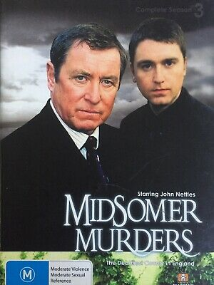 MIDSOMER MURDERS - Season 3 2 x DVD Box Set Exc Cond! Complete Second Series Two