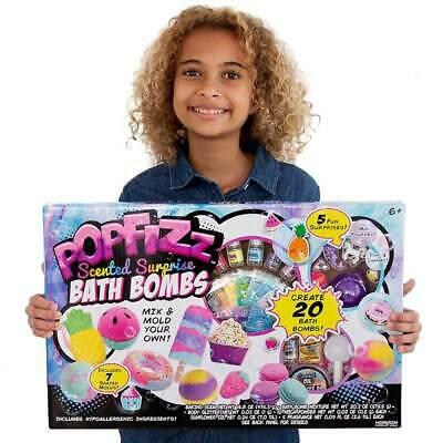 Pop Fizz Make Your Own Surprise Scented Bath Bombs