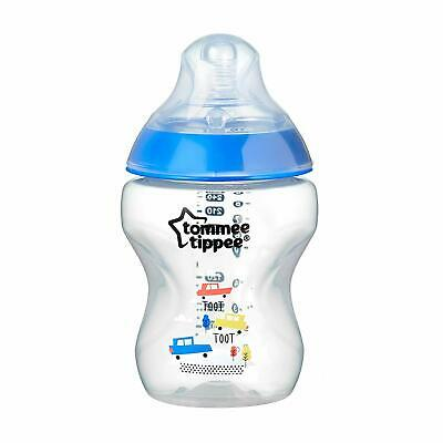 Biberon Déco Garçon Closer to Nature 260ml - Tommee Tippee