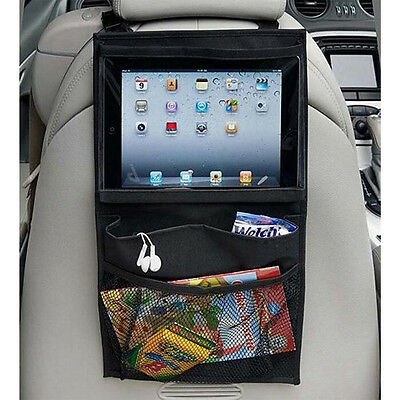 Hot Baby Car Seat Back Hanging Organizer Storage Holder Bag Portable For iPad JC