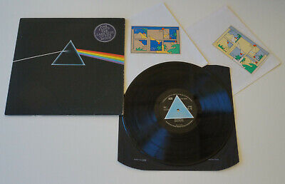 Pink Floyd - Dark Side Of The Moon 1973 UK 1st Press Solid Blue Complete A2 B2