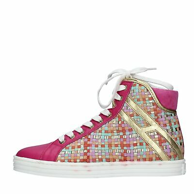 NV276 Scarpe Sneakers HOGAN REBEL donna Multicolore ef8b12bf6b0