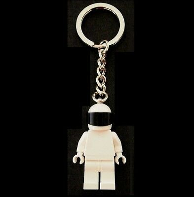 Custom Minifigure The Stig Racing Test Driver Key Chain Made with LEGO Parts