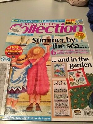 Cross Stitch Collection Magazine August 2003 Issue 94