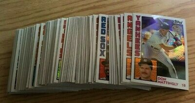 2019 Topps Series 1 Baseball 1984 Topps Chrome Silver Pack Base Card Lot (79)
