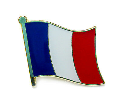 France National Flag Metal Lapel Pin Flag Pin