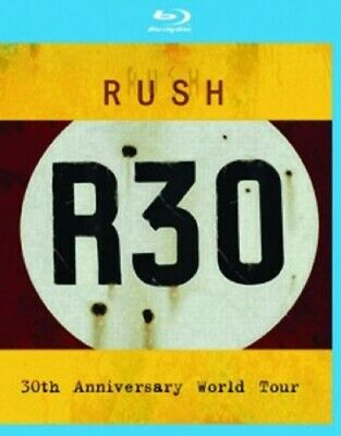 Rush - R30-30Th Anniversary World Tour  Blu-Ray New