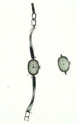 2 pcs Old Vintage Russian Mechanical LUCH Wristwatch watch not working Nr 4924
