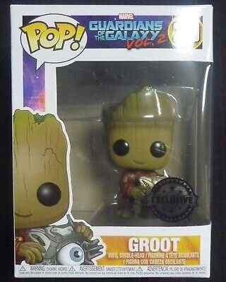 Guardians of the Galaxy 2 - Pop! - Groot with Cyber Eye exclusive - Funko