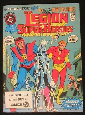 Legion of Super-Heroes...Best of DC #4 (1982) NM- 9.2...DC Digest 100 pages