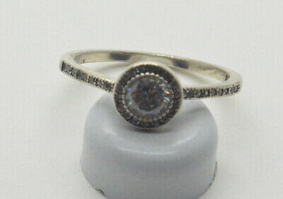 Antiquarian 925 Silver Ring with rock-crystal gemstone. 20 Century