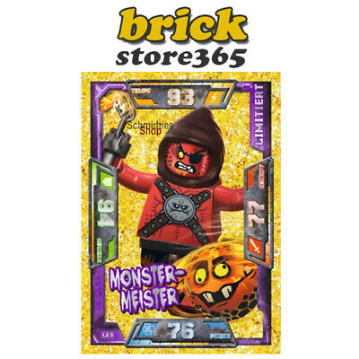 LEGO® LE9 NEXO KNIGHTS Trading Card Collection Monster-Meister Limitiert NEU