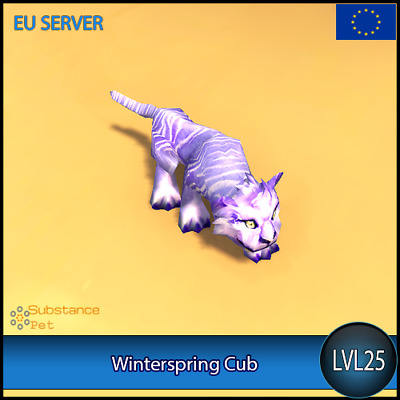 Winterspring Cub lvl25 Pet | All Europe Server | WoW Warcraft