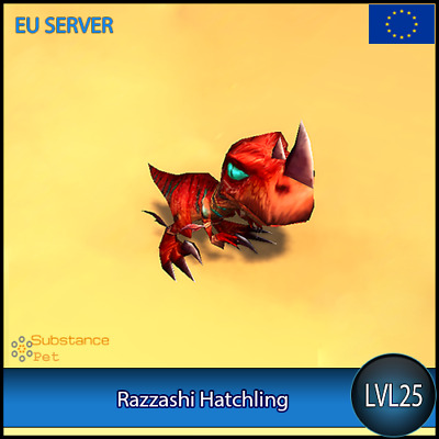 Razzashi Hatchling lvl25 Pet | All Europe Server | WoW Warcraft