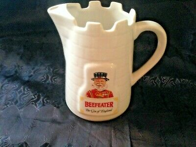 Beefeater pottery jug