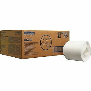 KIMTECH WETTASK DS Wipes - 6 rouleaux blanc
