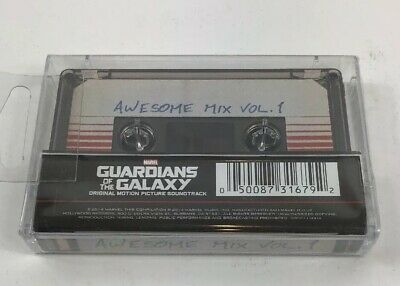 GUARDIANS OF THE GALAXY Awesome Mix Vol 1 CASSETTE Tape Soundtrack New & Sealed