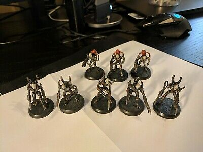 Rackham AT-43 rare OOP Therian 8 Grim Golems pre-painted miniatures