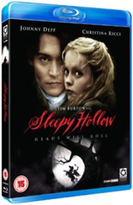 Johnny Depp, Christina Ricci-Sleepy Hollow Blu-ray NEUF