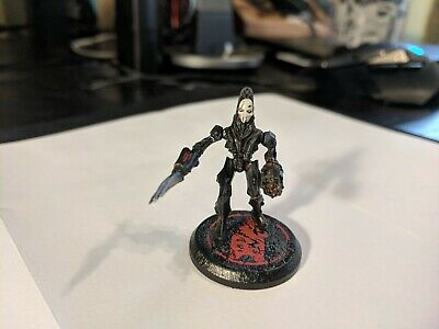 Rackham AT-43 rare OOP Therian Sigma Urash hero unit pre-painted miniature